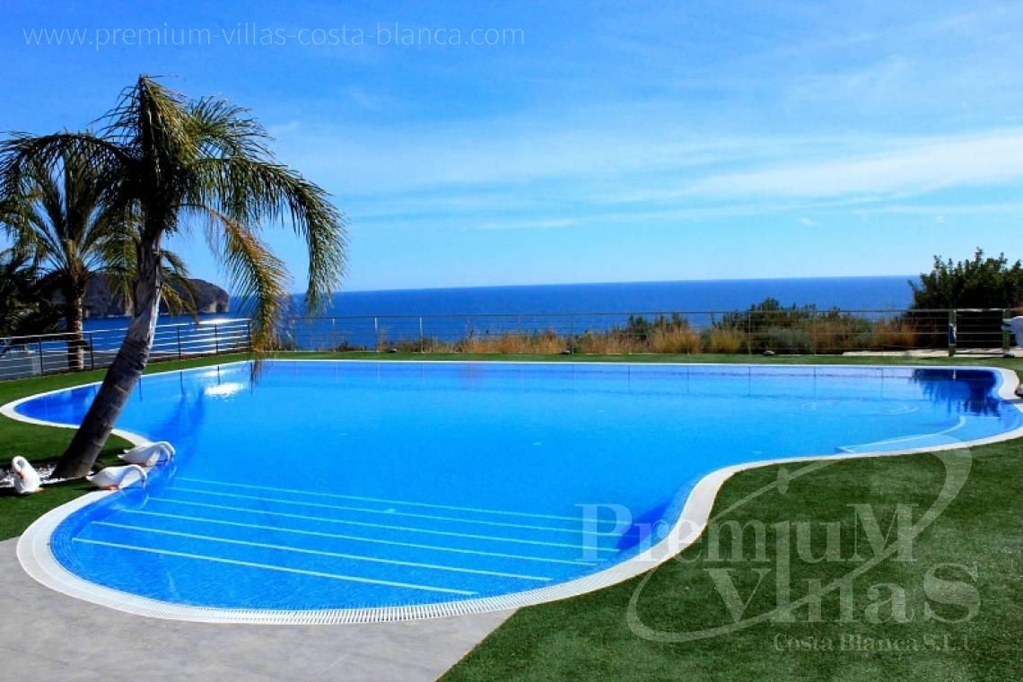 front line villa for sale Costa Blanca Spain - C1589 - Magnificent mansion on the sea front in Moraira 1