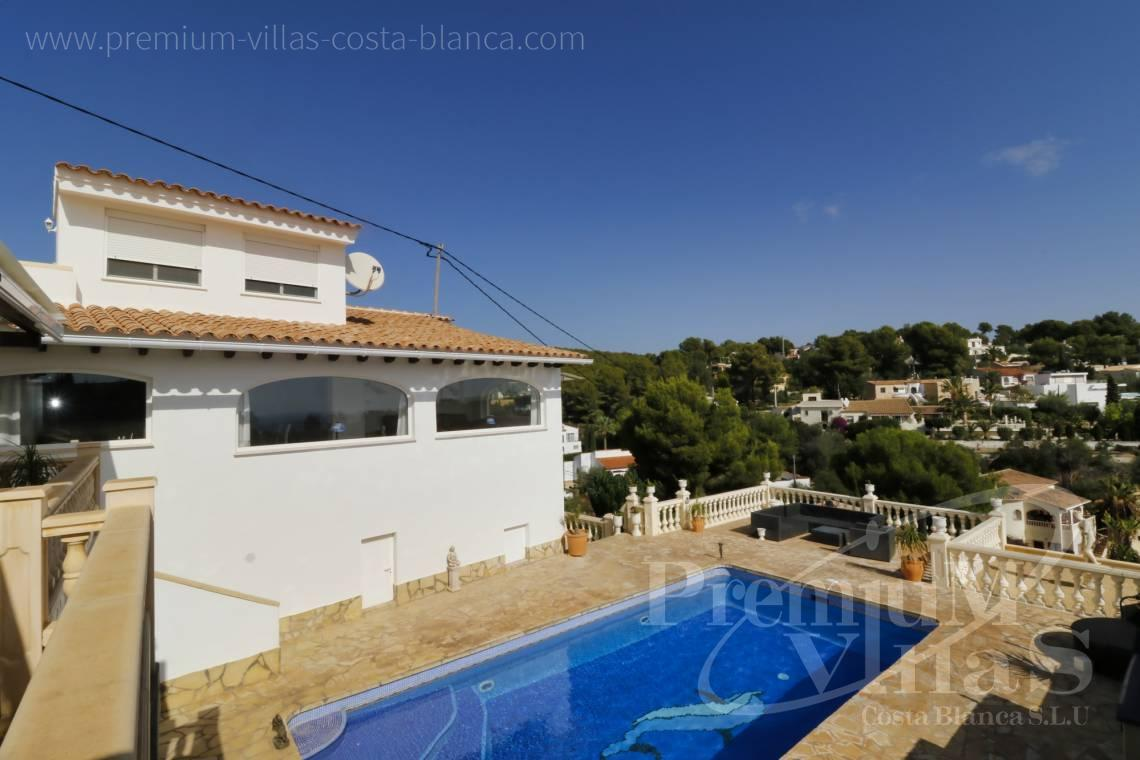 Buy villas houses sea view Altea Calpe Moraira Benissa Costa Blanca - C2233 - Renovated villa 800m from La Fustera beach 5