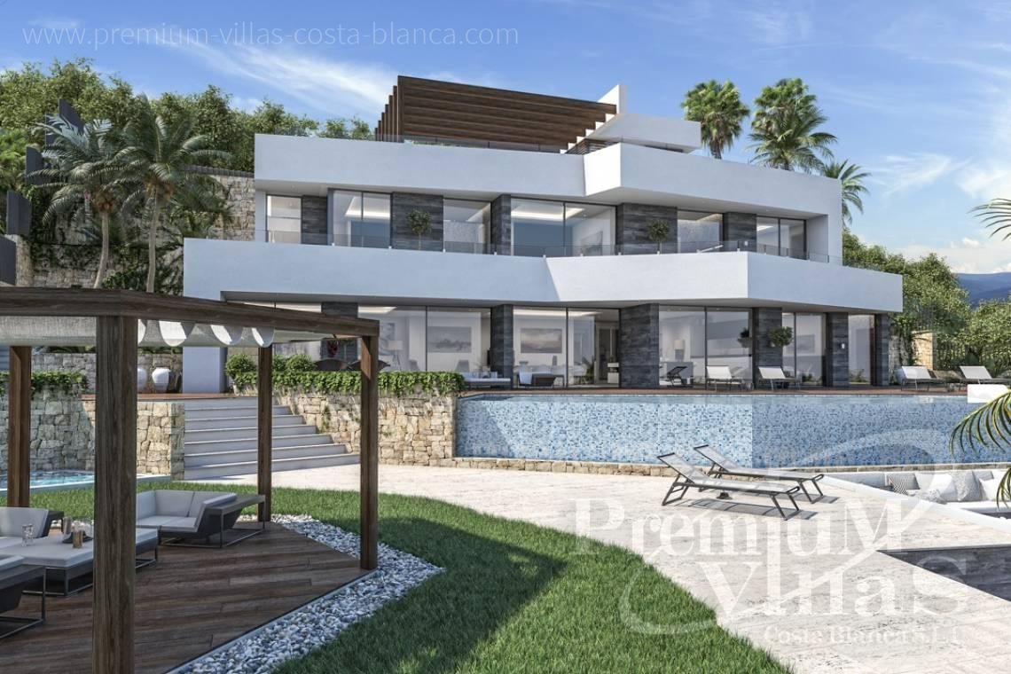 modern villas for sale Costa Blanca Spain - C2000 - Modern luxury villa in Benissa for sale with stunning sea view 25