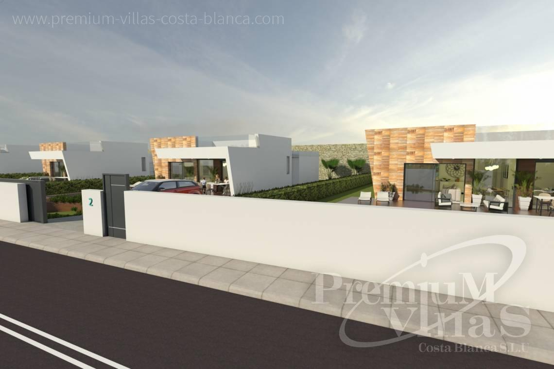 Modern villas with private pool in Benidorm Costablanca - C2013 - Modern villas under construction for a very good price! 22