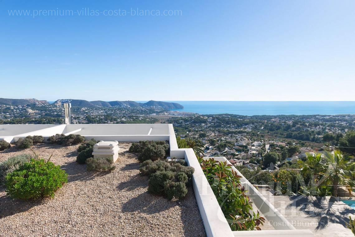 Buy modern villa with sea views in Moraira Costa Blanca - CC2385 - Modern villa with panoramic sea views in Moraira 2