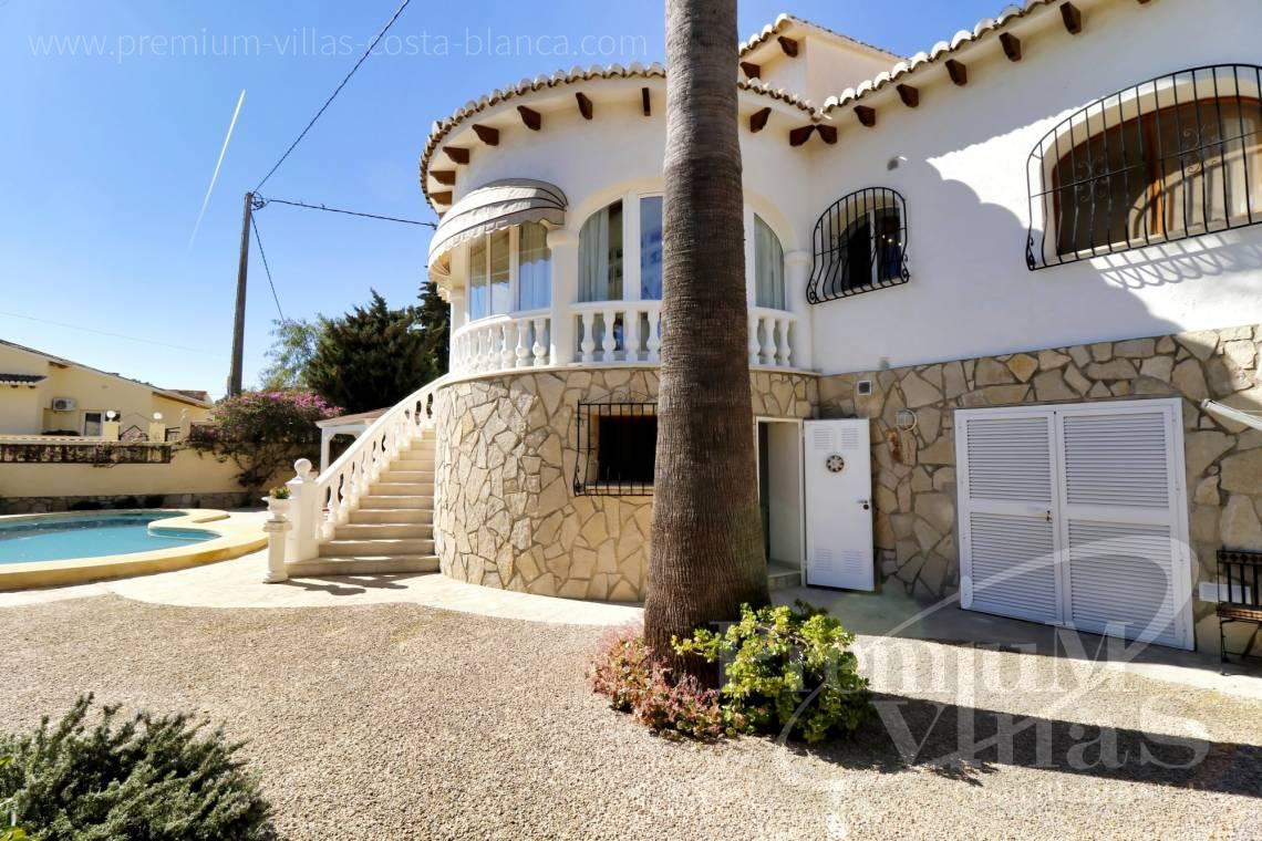 Buy Mediterranean villa with pool in Calpe Spain - C2265 - Sea view mediterranean villa 3 bedrooms in Calpe 23