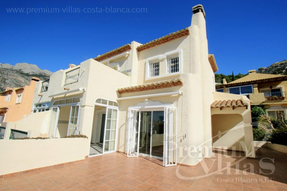 Buy house villa property Altea Hills Costa Blanca - C1925 - Well maintained semi-detached house in Altea Hills with large terrace and garage 1