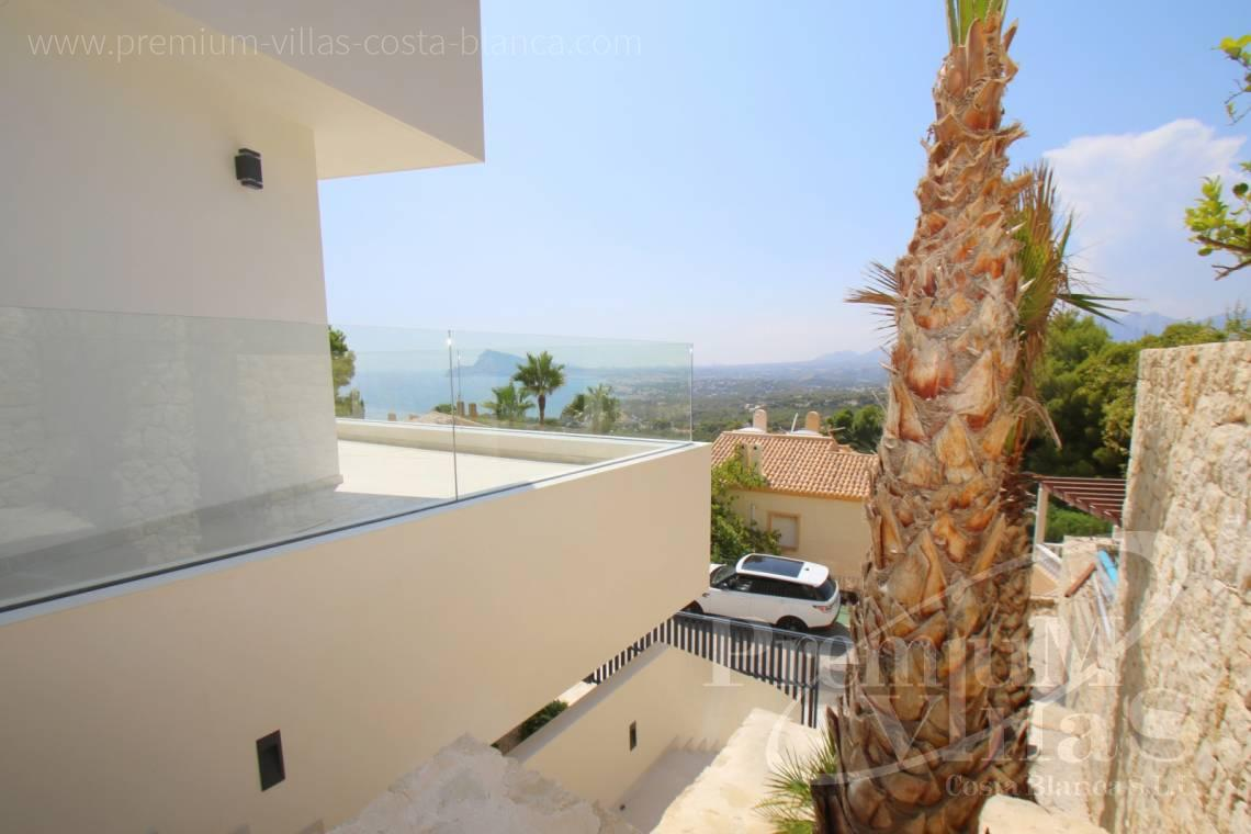 Buy modern villa near the marina Campomanes in Altea Spain - C2138 - New construction of a modern villa in Altea Hills with fantastic views 25