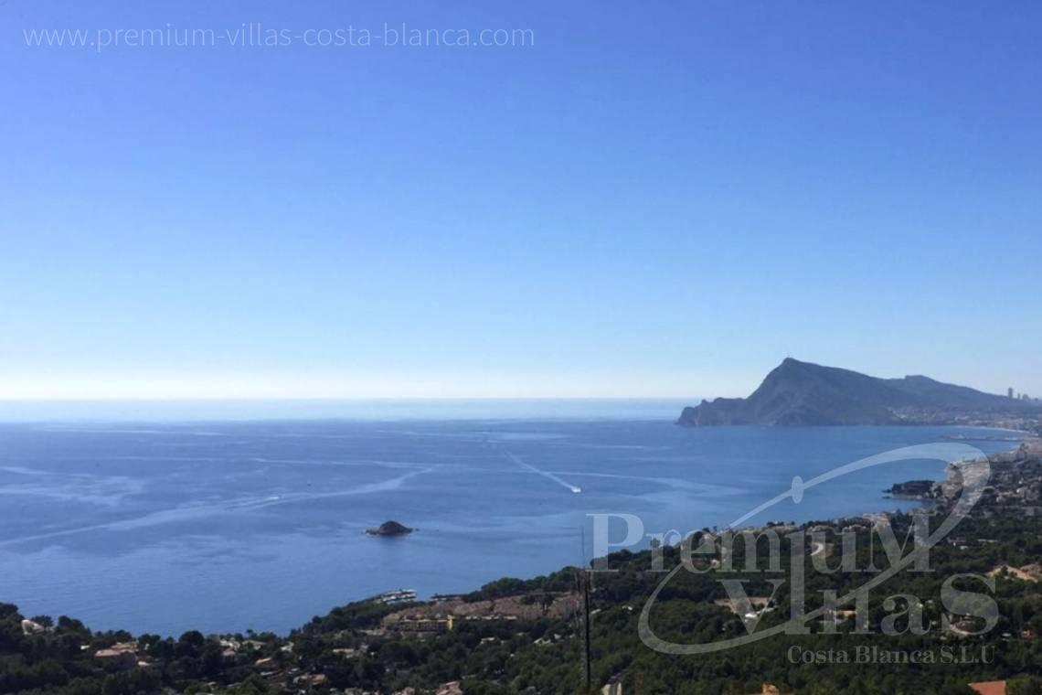 Villas for sale with sea views in Altea - C2086 - Cosy townhouse with wonderful sea views in the Sierra of Altea 1