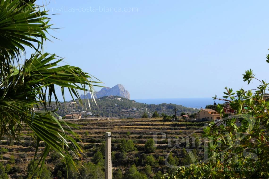 Sea views from the 5 bedroom villa in Benissa Spain - C2417 - Amazing Finca in Benissa with a 13.000sqm flat plot and sea views 9