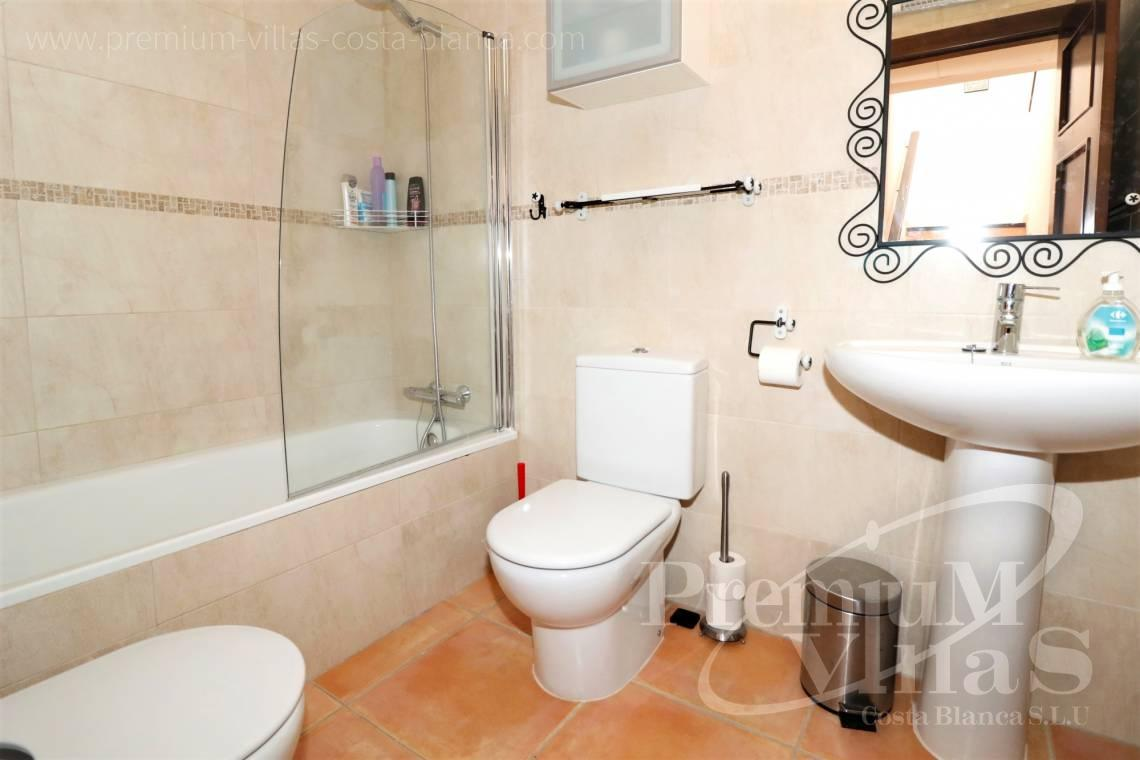 - C1781 - Cozy corner townhouse with nice terraces, fantastic sea views in Altea Hills! 10