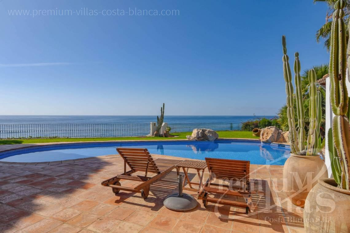 Buy villas houses sea view in Benissa Costa  - CC2404 - Frontline villa in Benissa Costa 3