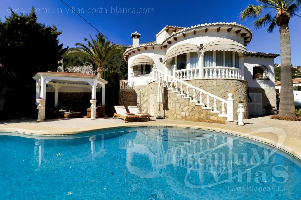 Mediterranean villa for sale with pool in Cucarres Calpe - C2265 - Sea view mediterranean villa 3 bedrooms in Calpe 28
