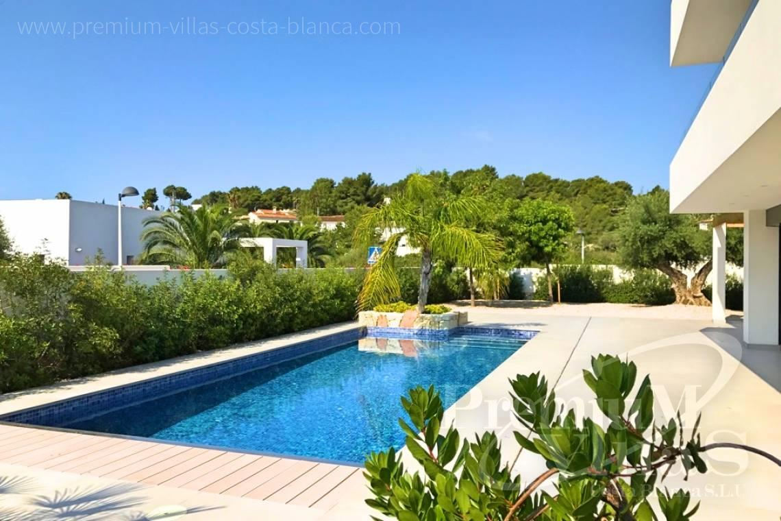 Modern 4 bedroom villa in Moraira Costablanca - C2075 - Bioclimatic villa for sale 15
