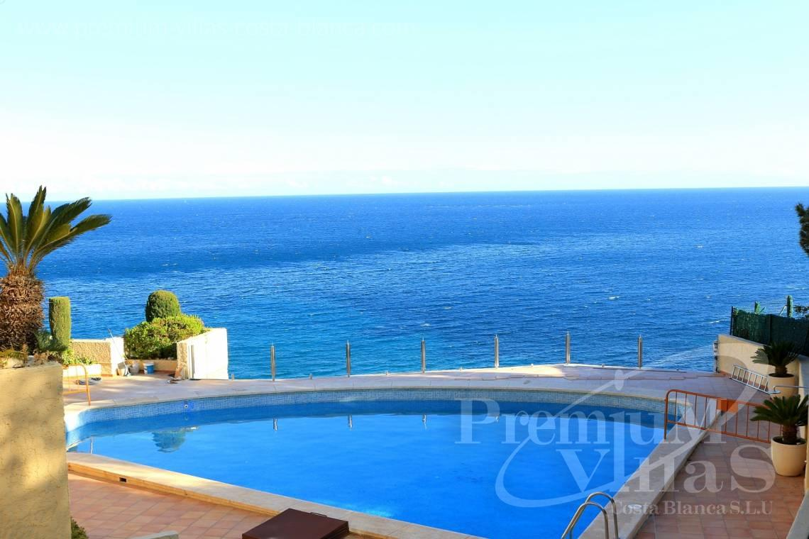 buy apartment  Altea Costa Blanca Spain - A0506 - Front line apartment with 2 terraces in Mascarat with great sea view 1