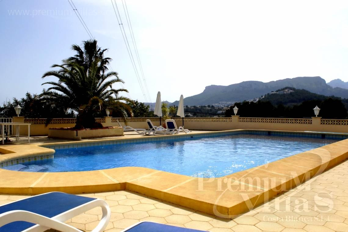 House villa for sale Calpe Costa Blanca - C2153 - Villa in Calpe with guest apartment and wonderful views 5