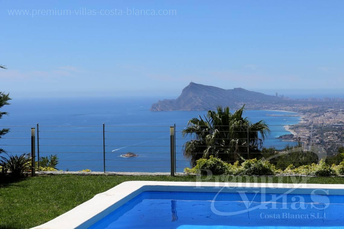 Buy modern villa with sea views in Altea Hills Costablanca - C2048 - Modern villa for sale with panoramic sea views in Altea Hills 2