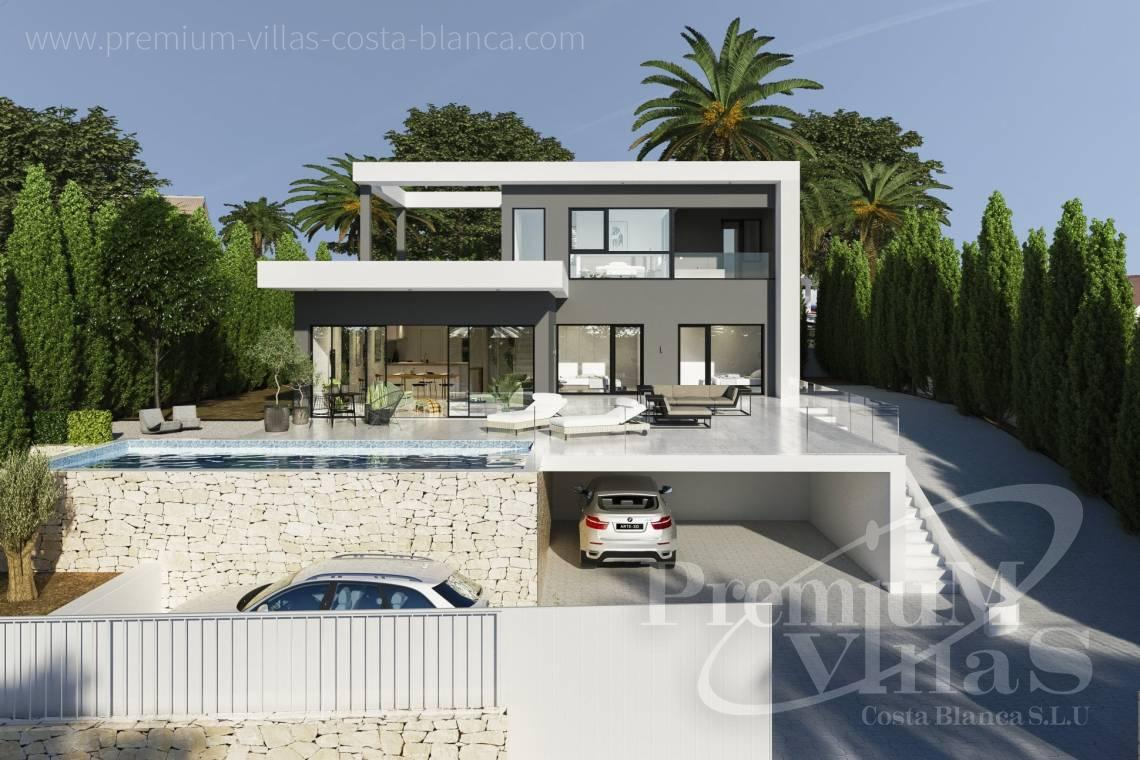 Modern villa near the beach in Calpe Costa Blanca - C2240 - Modern villa in urbanization Ortenbach in Calpe 13