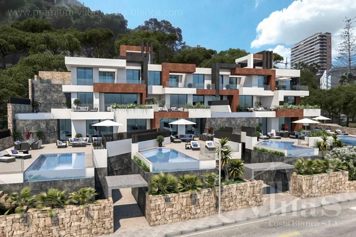 3 bedrooms front line apartment for sale Benidorm - A0599 - Luxury apartments and duplex in privileged area of Benidorm at the seafront. 5