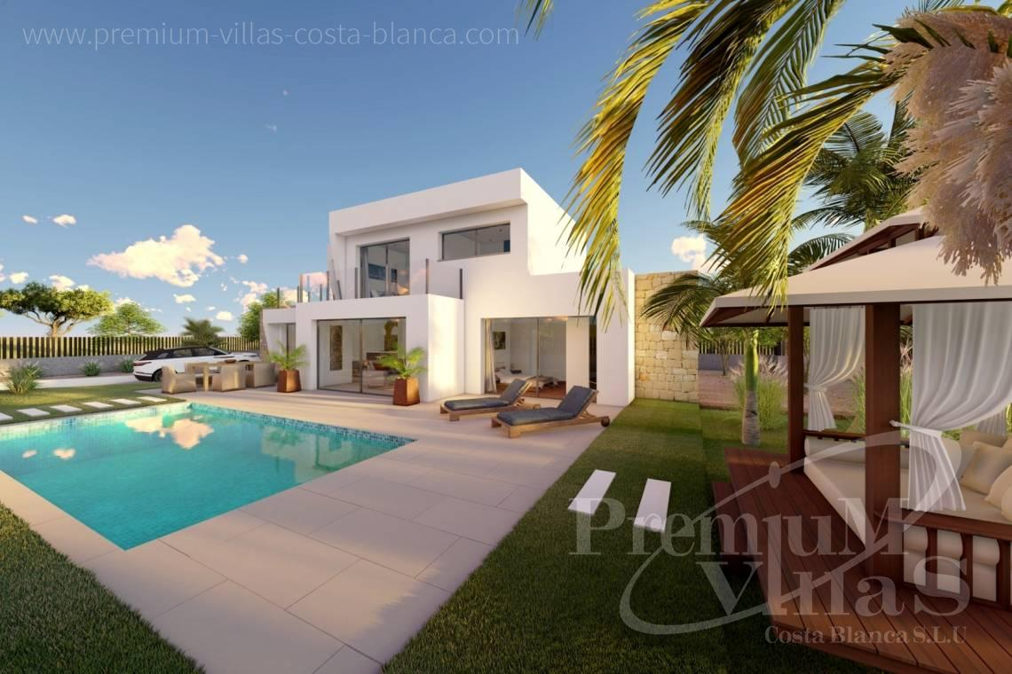 Buy modern 4 bedroom villa in Calpe Costa Blanca