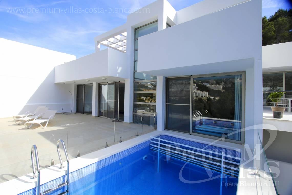 house villa for sale Altea Costa Blanca Spain - C2146 - Modern house with own lift for a good price 2