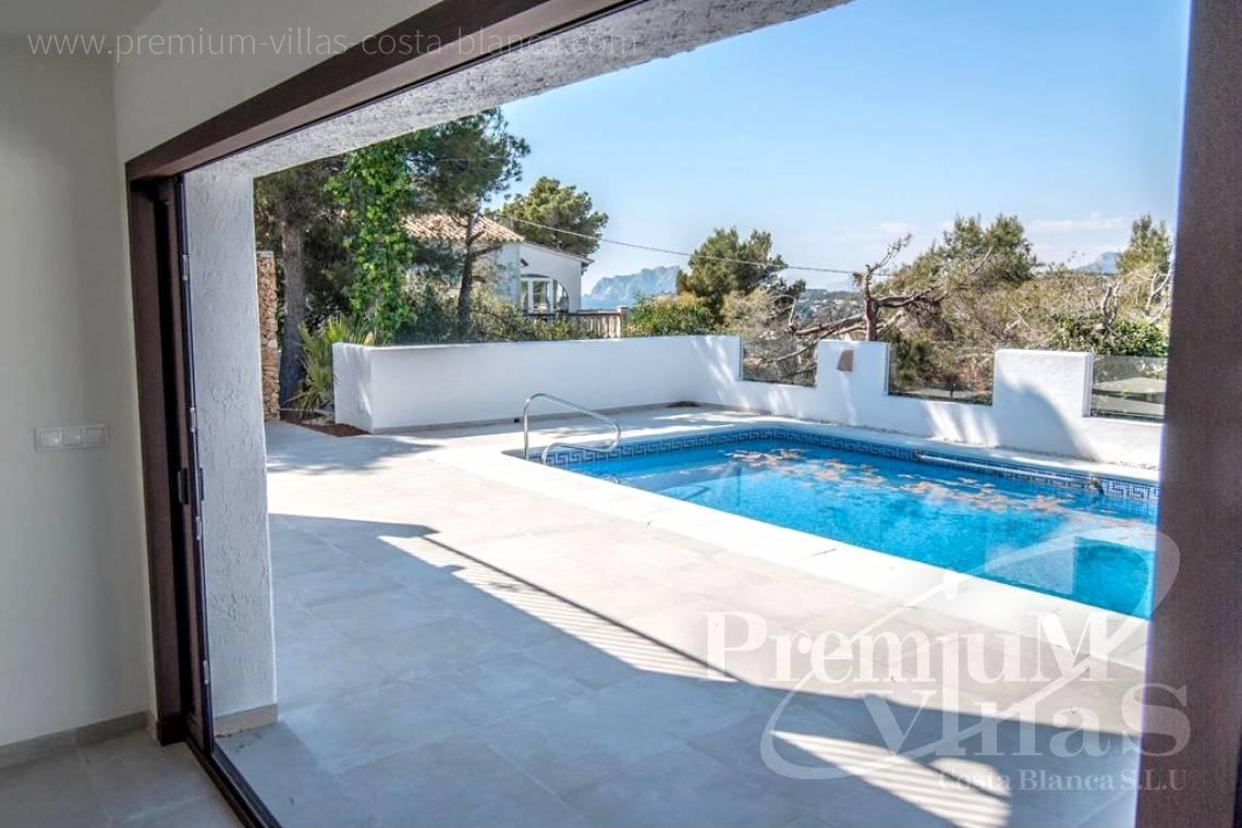 buy house villa Moraira Costa Blanca - C2152 - Refurbished house with sea views only 1.700 m from the beach and the centre of Moraira 13