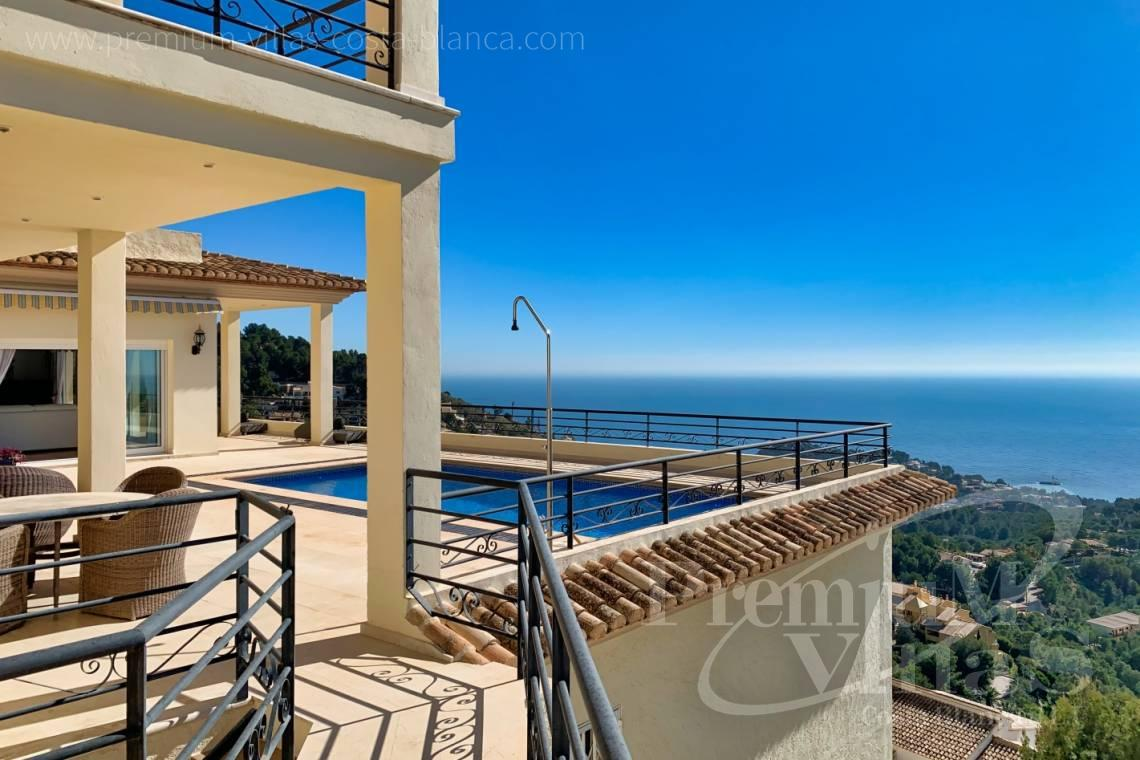 buy house villa Altea Costa Blanca - C2410 - Luxury house with stunning sea views in the Sierra de Altea 4