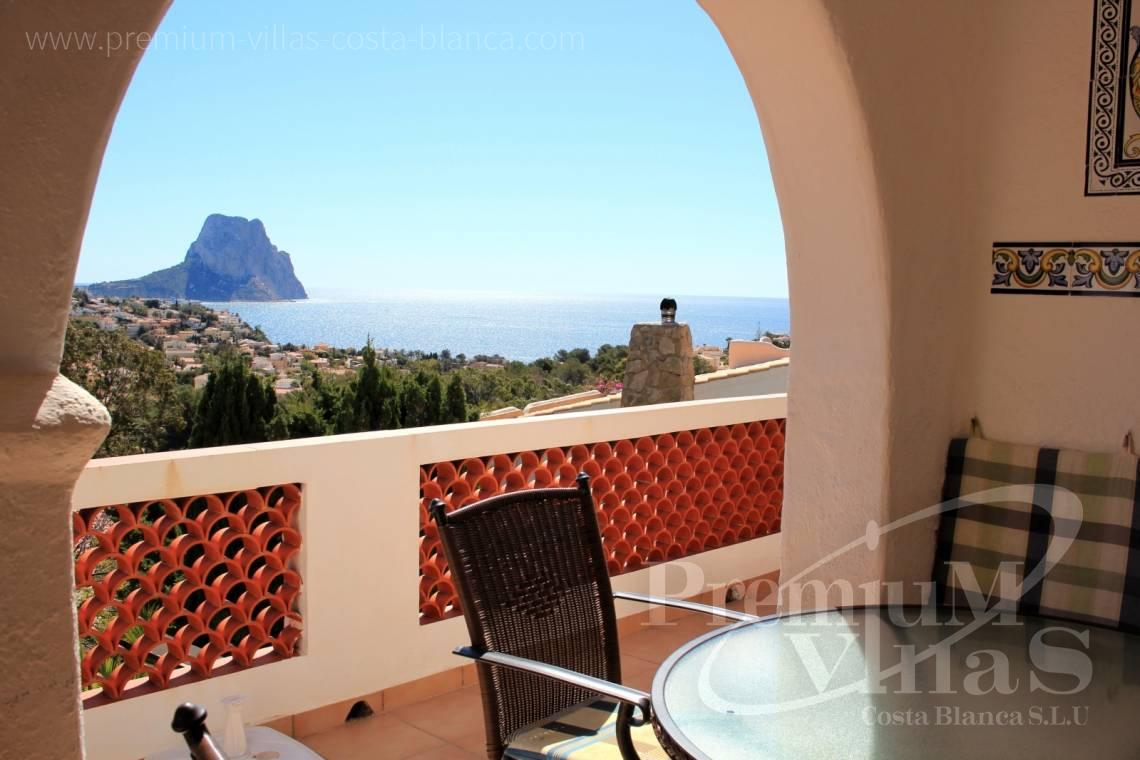 Buy a house with sea views in Calpe Costablanca - CC1953 - For sale: House with stunning sea views in Calpe 1