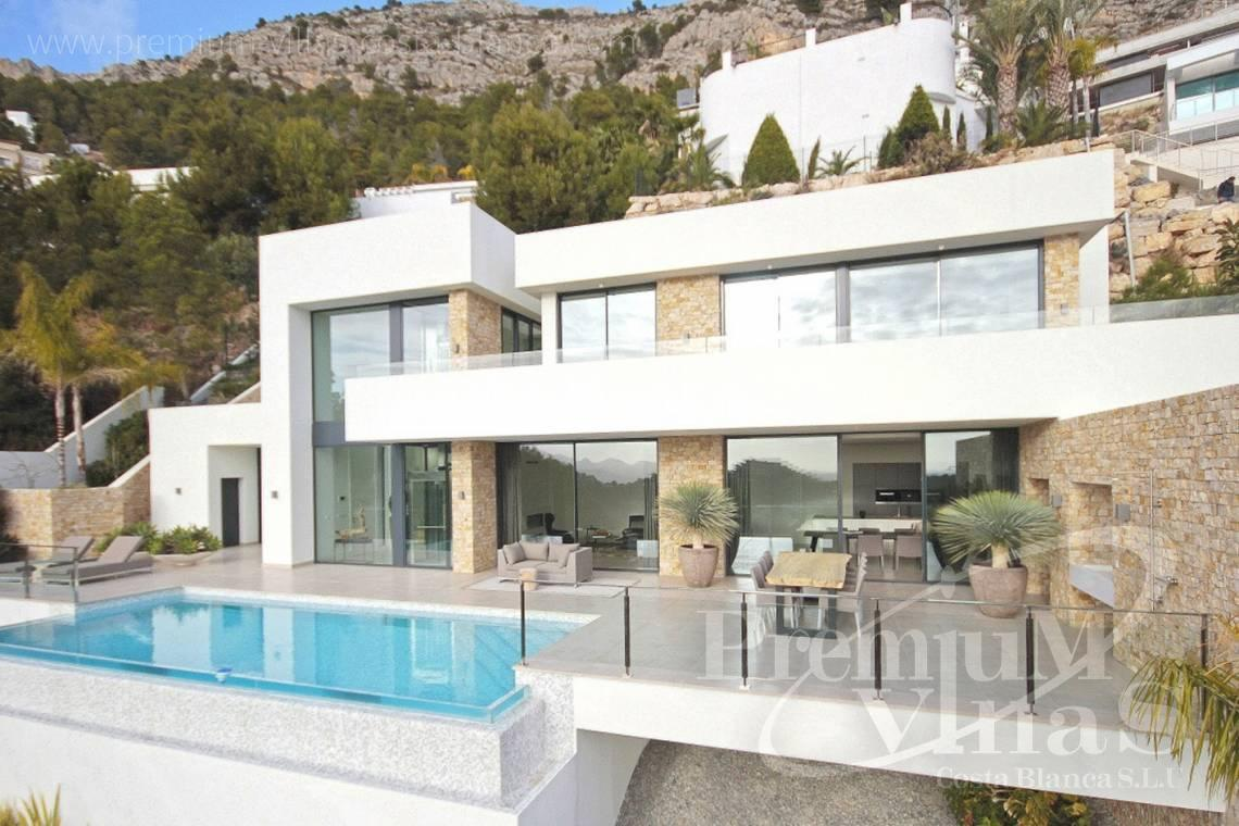 Buy house villa mansion luxury Altea Costa Blanca - C2172 - Newly built luxury villa in Altea Hills with panoramic sea views. 3
