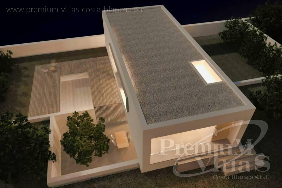 buy property Moraira Costa Blanca - C2219 - New construction: Modern villa 2km from the beach and the centre of Moraira. 3