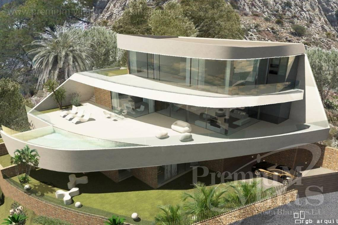 modern villas for sale Costa Blanca Spain - C1852 - Our company builds this modern and luxury villa with amazing sea views 20