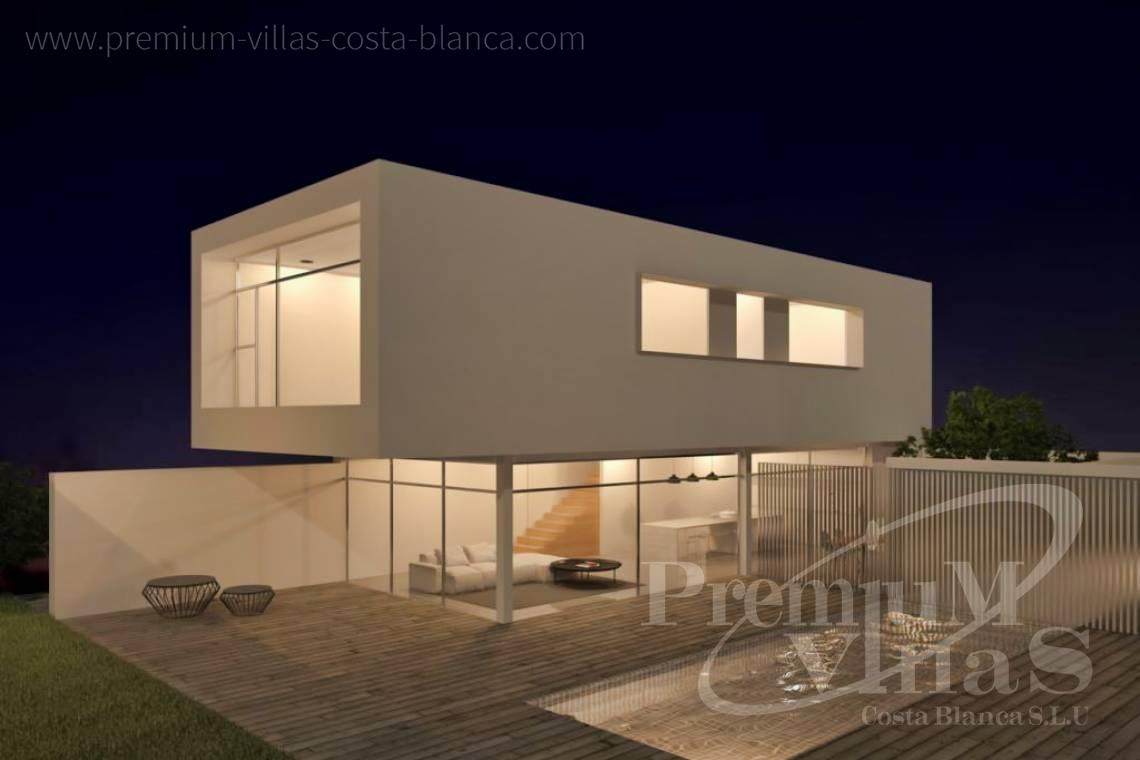 buy property Moraira Costa Blanca - C2219 - New construction: Modern villa 2km from the beach and the centre of Moraira. 1
