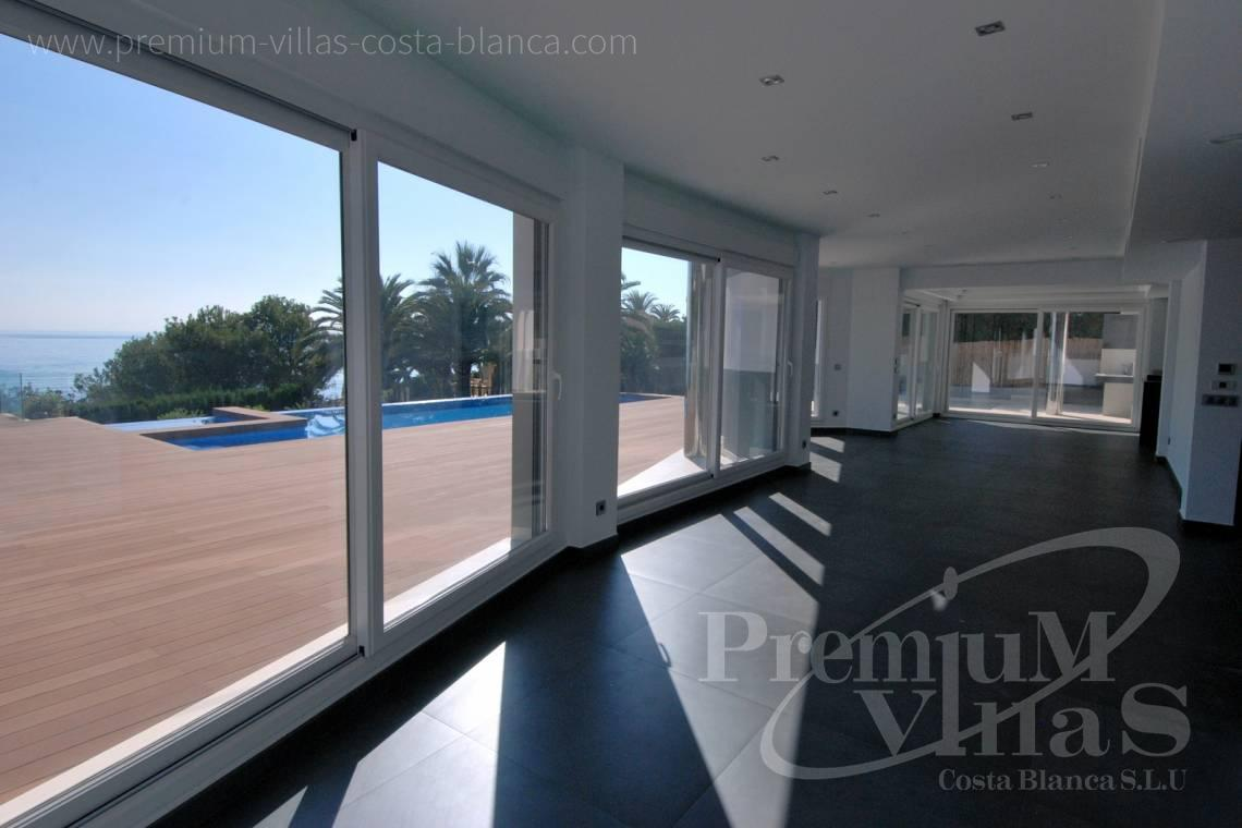 Modern house villa in Calpe Costa Blanca - C1645 - 1st sea line: Modern luxury villa with access to the beach in Calpe 6
