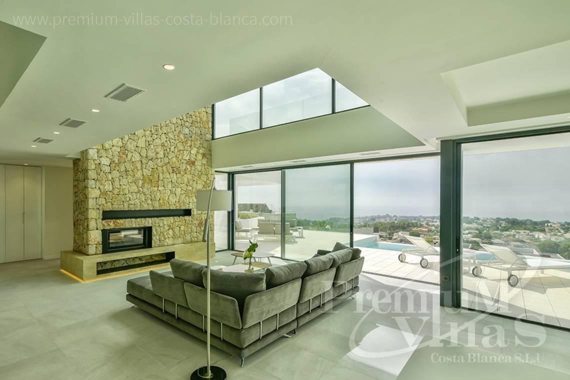 Buy  modern villa near the beach in Calpe Costa Blanca - C2080 - Modern villa for sale with spectacular sea views in Calpe 12