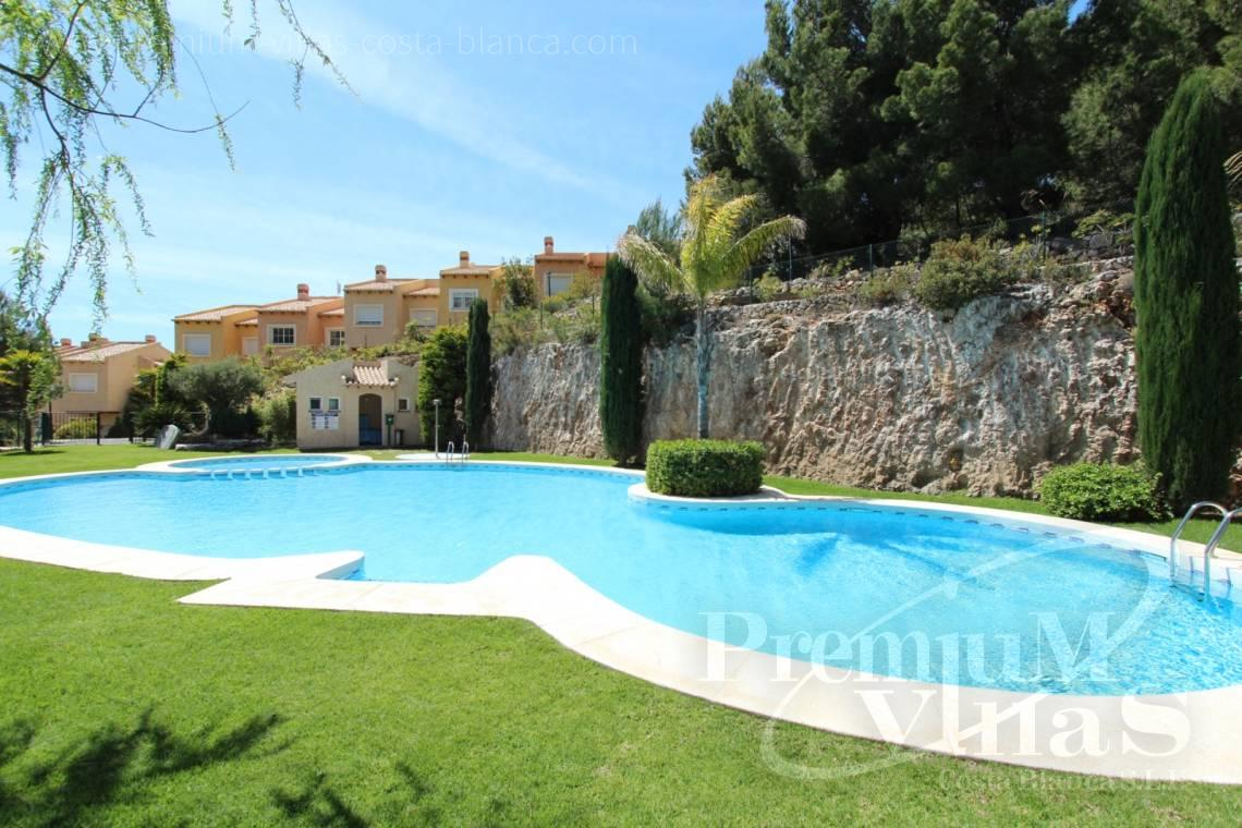 - C2086 - Cosy townhouse with wonderful sea views in the Sierra of Altea 21