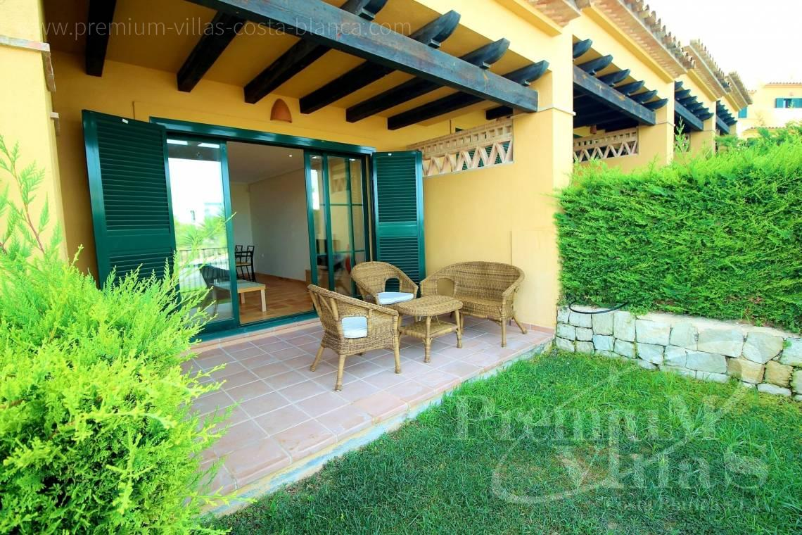 Buy bungalow with garden in Sierra Cortina Finestrat - C2267 - Terraced houses near the golf course in Finestrat 4