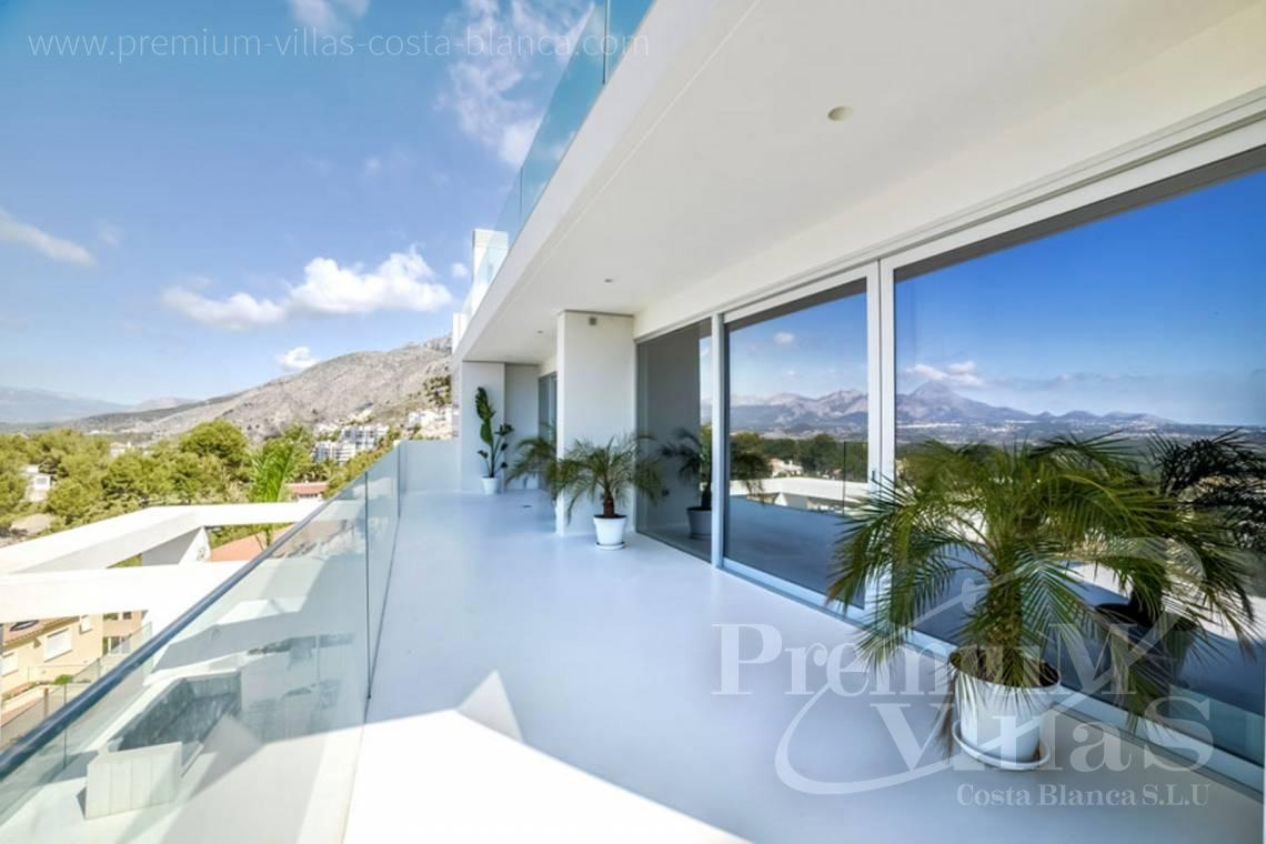 Buy modern 4 bedrooms house Altea Costa Blanca - C1472 - Modern villas (4 units left) with sea views in Altea 4