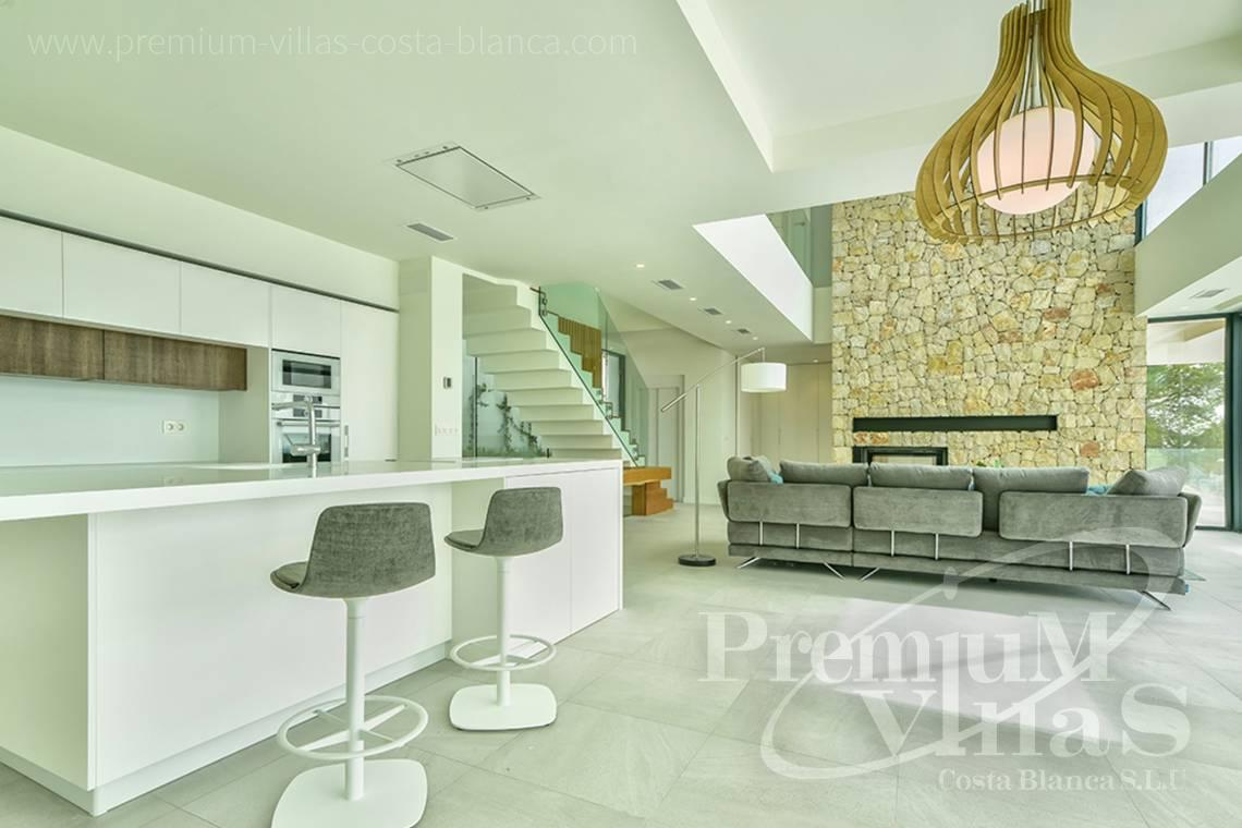 - C2080 - Modern villa for sale with spectacular sea views in Calpe 8