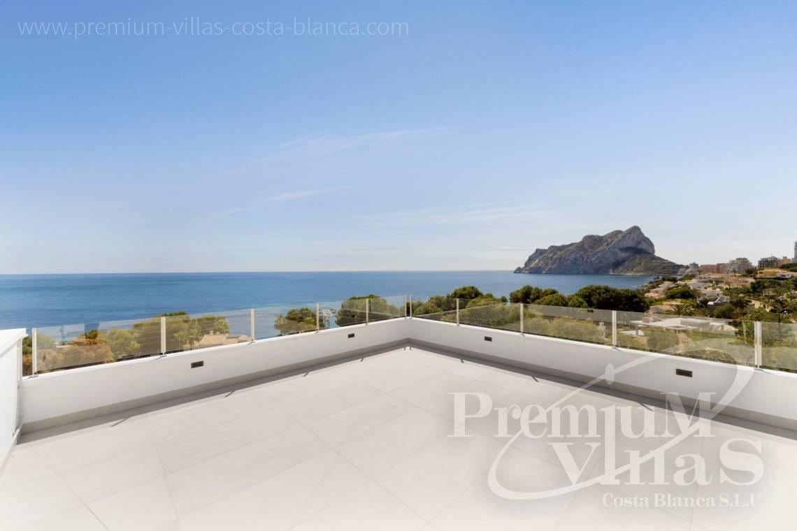 Buy a modern villa with sea views in Les Bassetes Calpe - C2374 - Luxury villa with sea views in Les Bassetes, Calpe 7