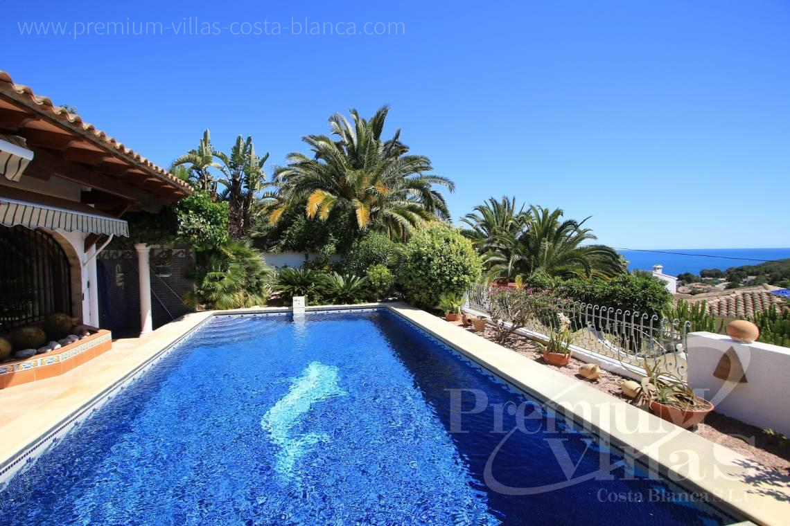 finca, land house for sale Benissa Costa Blanca - C2151 - A real paradise on a double plot only 900m from the sea in Benissa 6