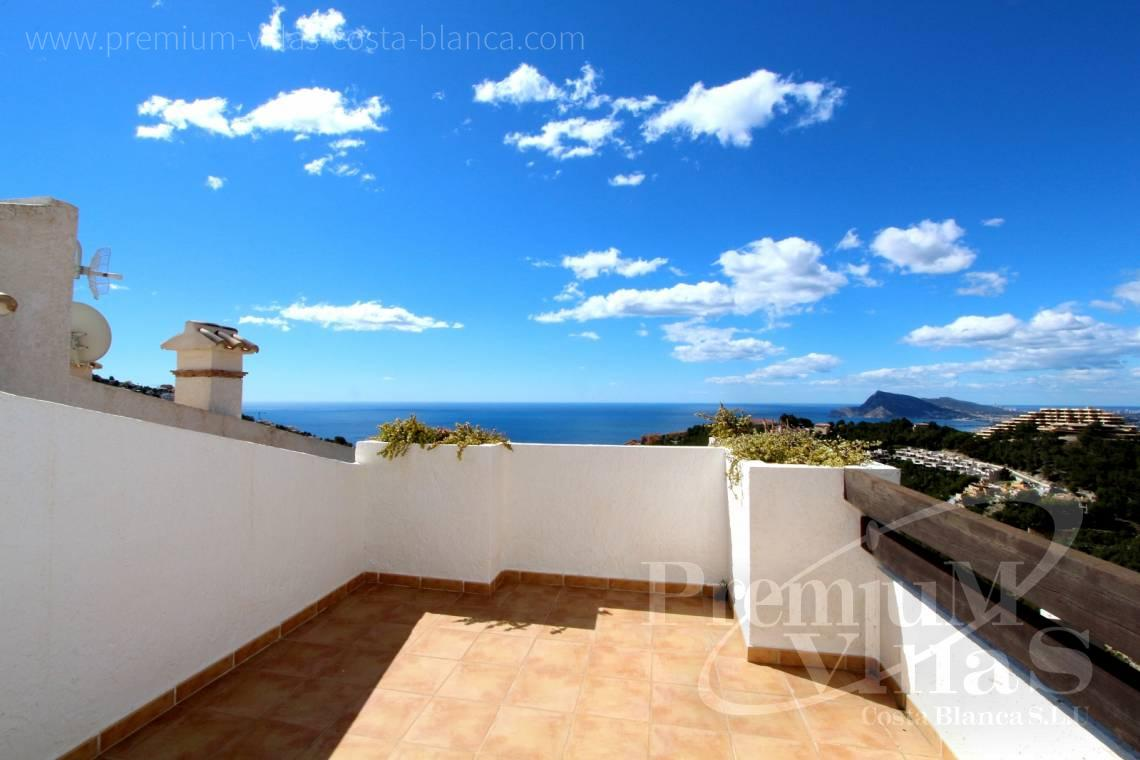 C1781 - Cozy corner townhouse with nice terraces, fantastic sea views in Altea Hills! 6