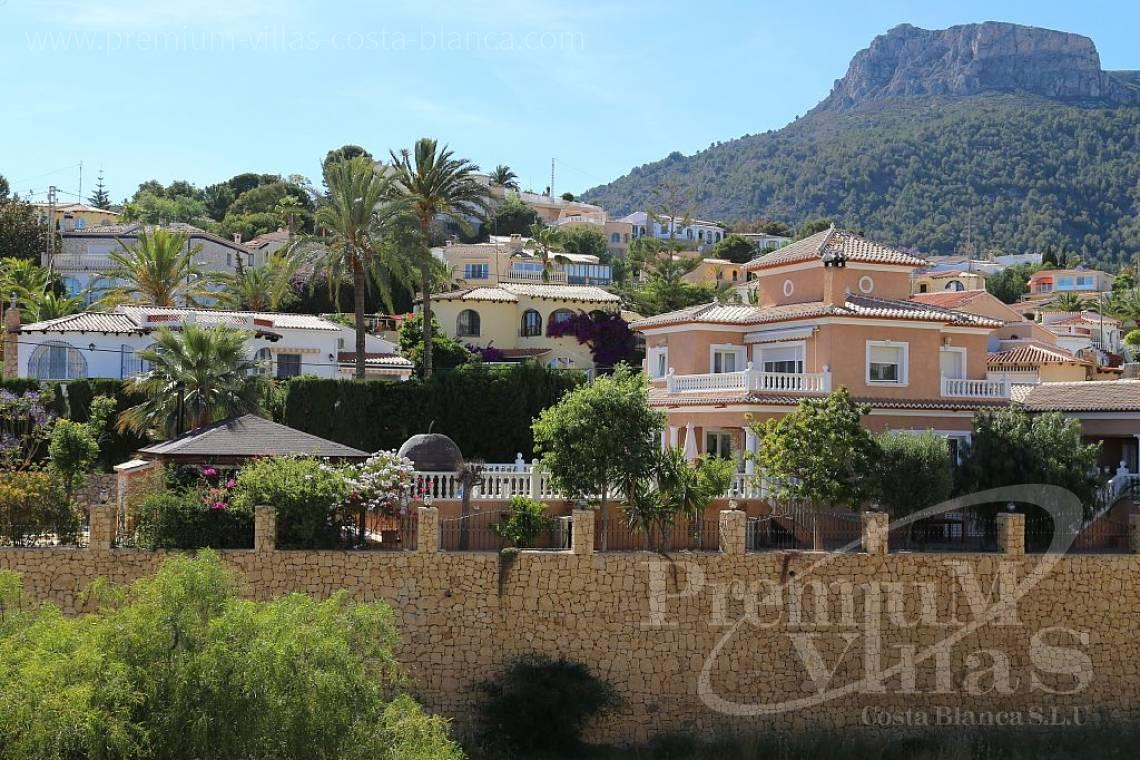 House villa for sale Calpe Costa Blanca - C1849 - Villa located only 200m from the beach and sports harbour in Calpe 5