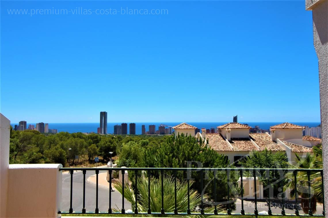 Buy sea view apartment in Sierra Cortina Finestrat - A0629 - 1 bedroom apartments with sea views in Finestrat 2