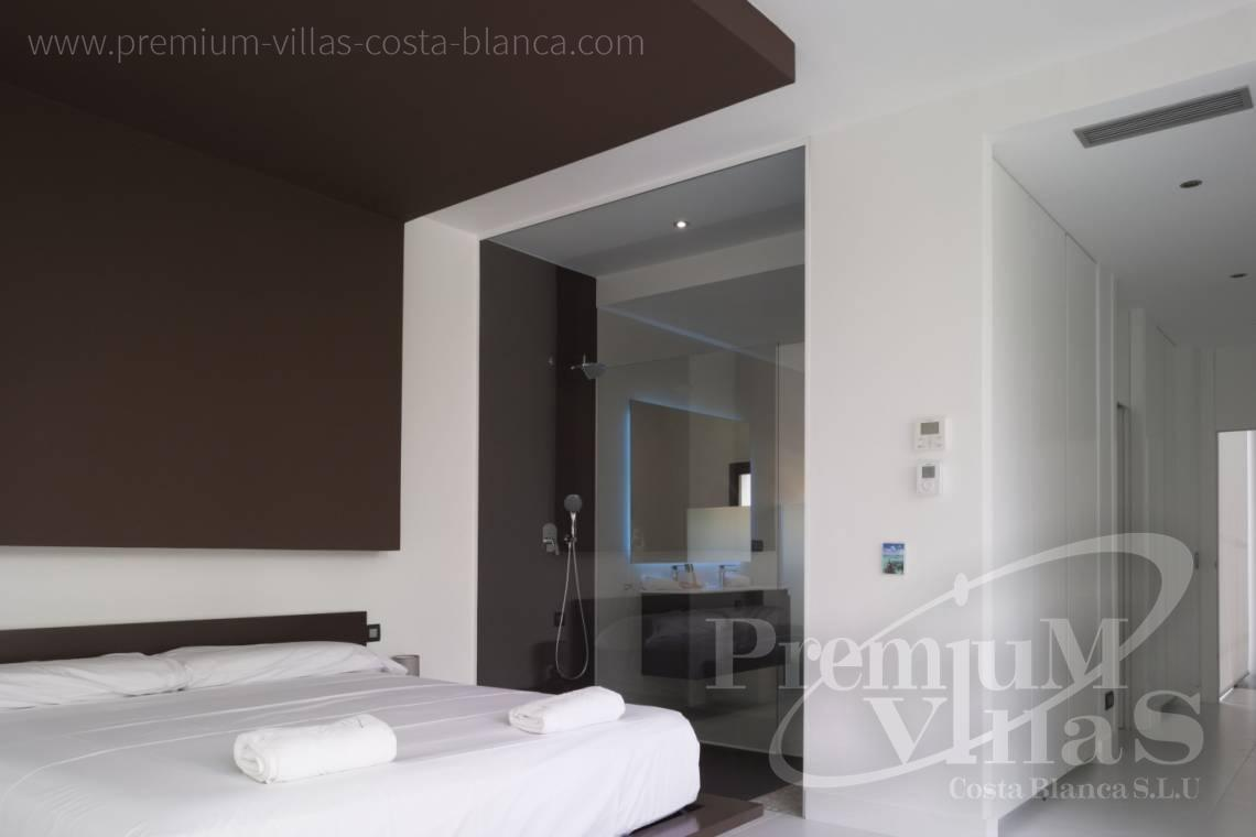 Bedroom in modern villa near the beach in Altea Costablanca - C2104 - Modern house in Altea only 300m from the beach 14
