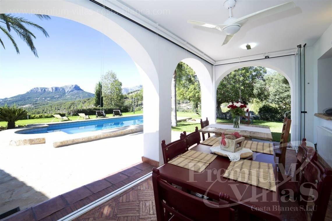 finca, land house for sale Benissa Costa Blanca - CB1973 - Finca for sale in Benissa with some sea view 3