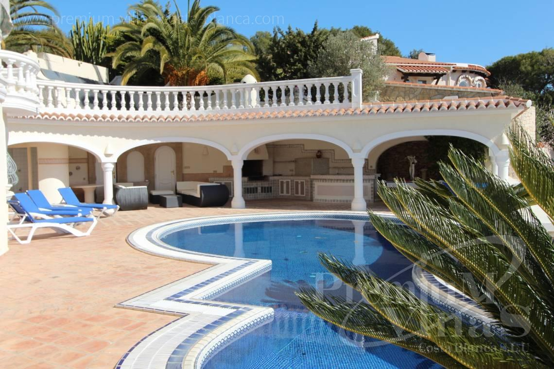 Buy 4 bedrooms villas houses with sea view in Benissa Costa Blanca - C1495 - Luxury villa close the sea with a guest accomodation in Benissa 5