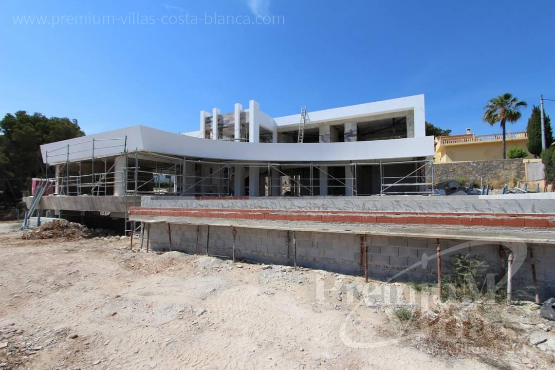 Buy villas houses sea view Benissa Costa Blanca - C1698 - Modern design villa for sale with nice sea views in Benissa  15