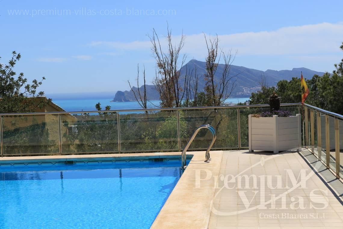 buy 4 bedrooms apartment  Altea Costa Blanca Spain - A0508 - Apartment with sea views and 4 parking spaces in Altea 4
