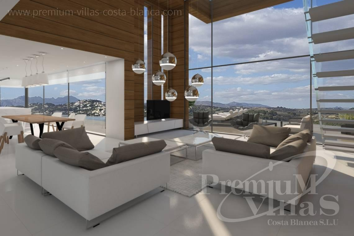 Buy modern villa in Moraira Costa Blanca - C2133 - New construction villa 4km from Moraira 4