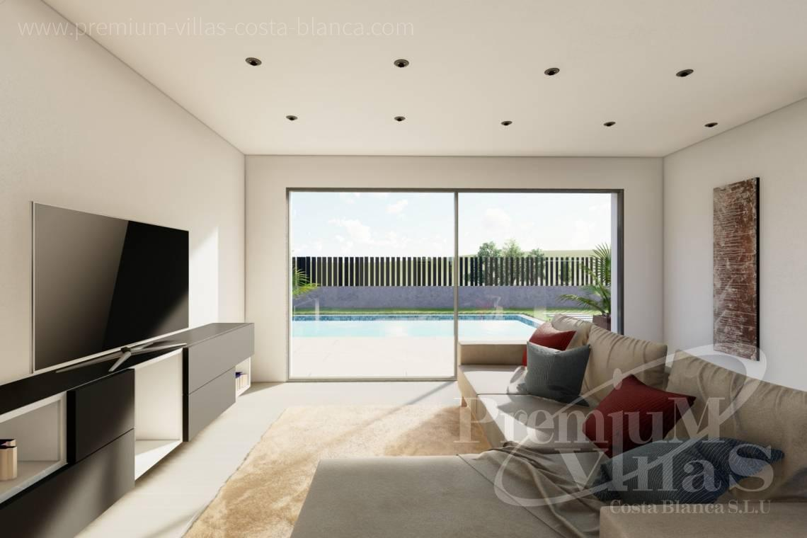 - C2312 - Modern 4 bedroom villa near the beach in Calpe 12