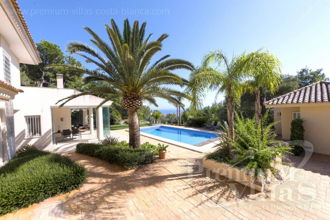 buy house villa with private swimming pool Altea Costa Blanca Spain - C1265 - Villa with sea views for sale in Altea 5