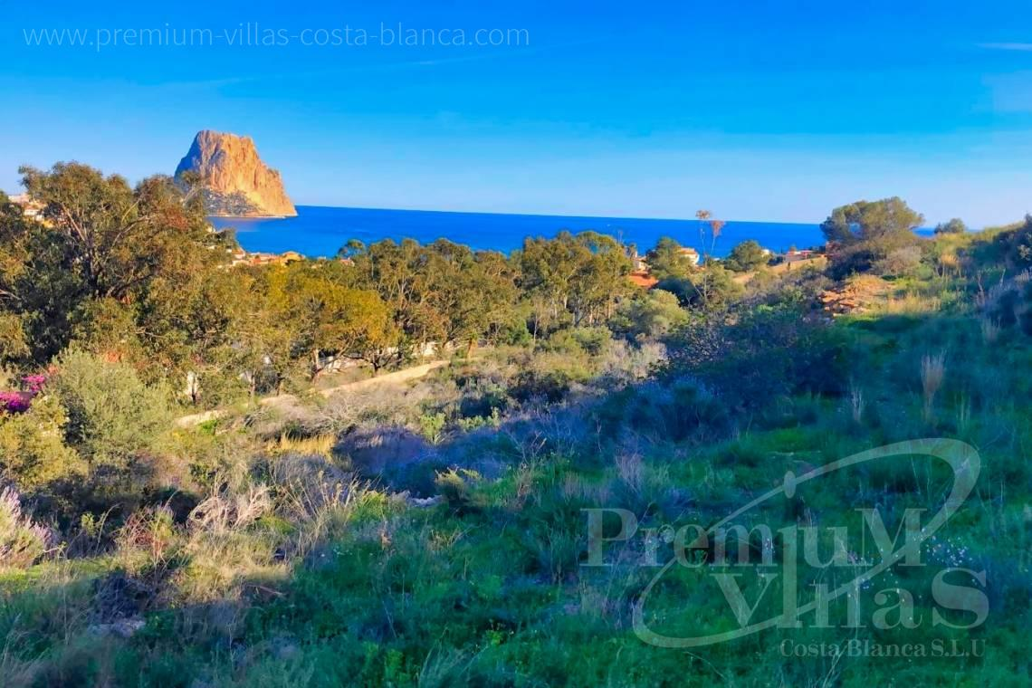 - 0219G - 4 building plots in package in Calpe, La Canuta for sale 1