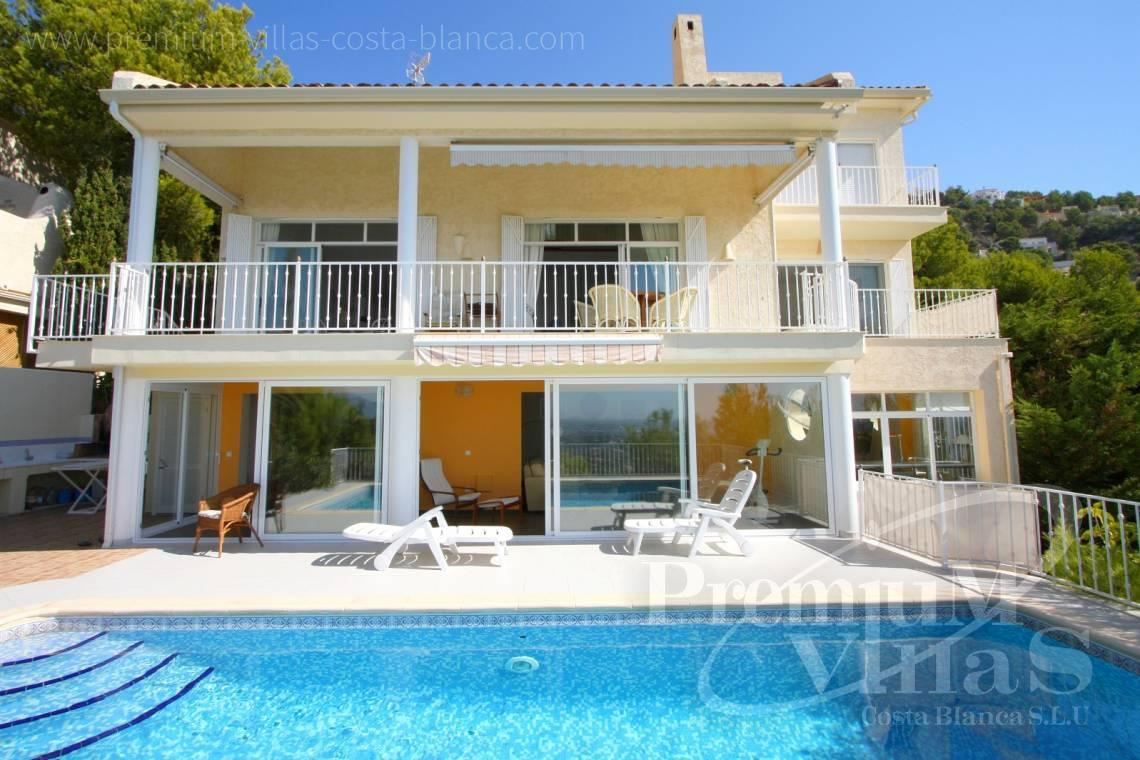 Buy house villa property Altea Hills Costa Blanca - C1198 - Altea Hills! Spacious villa with very nice sea views towards the coast 3
