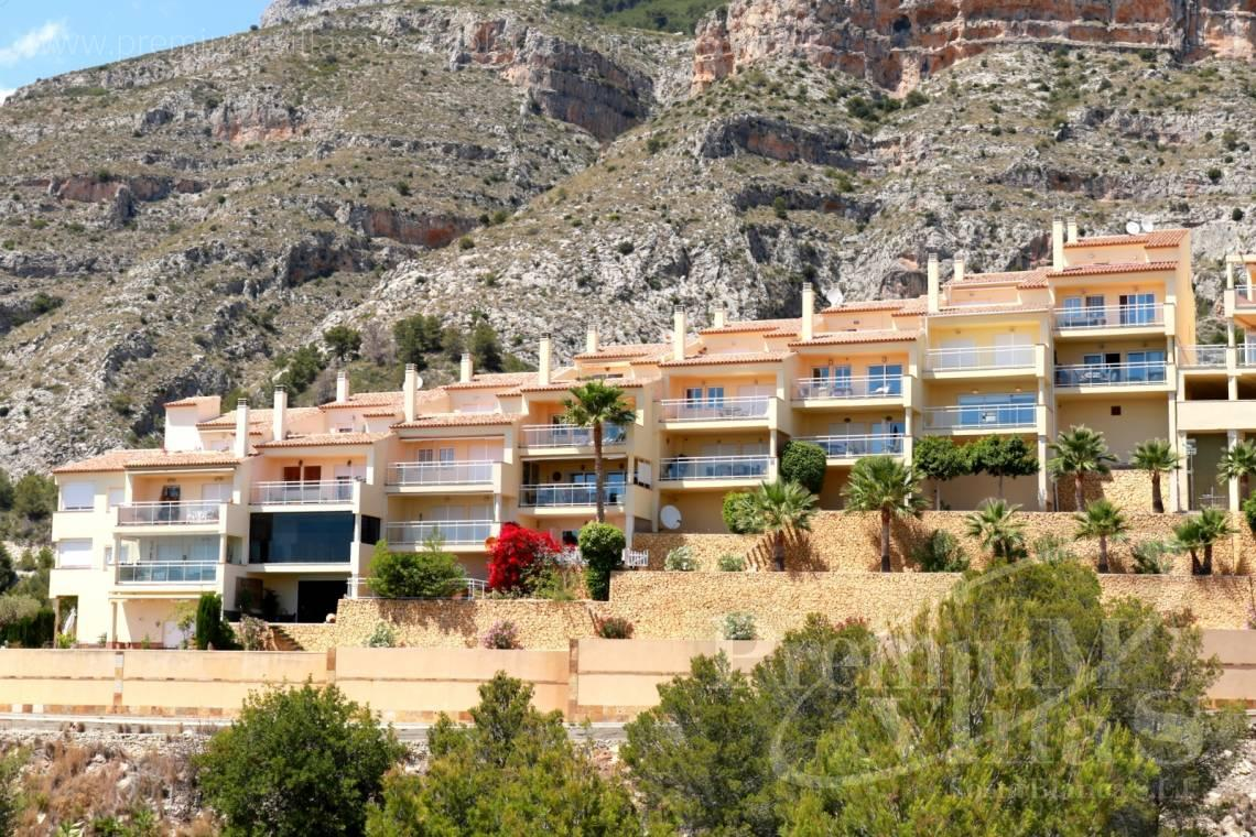 Bungalow villa Altea Costa Blanca Spain - C2214 - Corner bungalow with panoramic sea and mountain views 3